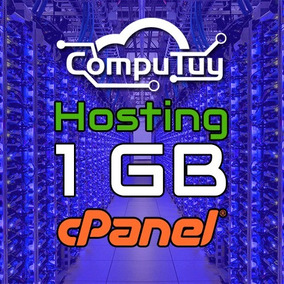 Web Hosting Y Dominio (.ve), Cpanel - 1gb De Espacio X Mes