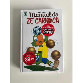 Hq Manual Do Zé Carioca Lacrado - Envio R$ 12