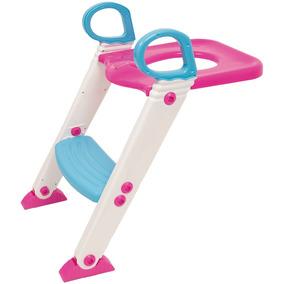 Bebê Assento Infantil Redutor Com Escada Rosa Buba 7425 + Nf