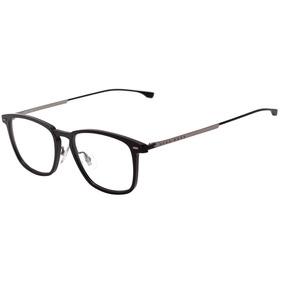 ee61a861f8d9e Hugo Boss Boss 0975 - Óculos De Grau 807 18 Preto Brilho