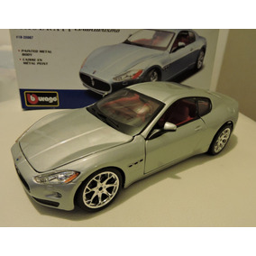 Maserati Gran Turismo Carro Metal Burago Escala 1/24