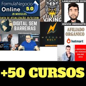 Fórmula Negócio Online+ Afiliado Viking+bolt +50cursos