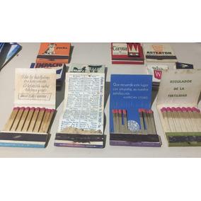 12 Cajas Fosforos 1950-60 Ind. Argentina El Lote X $ 160-.!