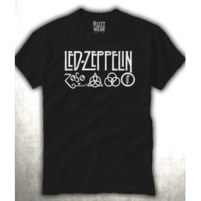 Led Zeppelin Iv Rock T-shirt Playera Hombre Rott Wear