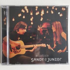 Cd Sandy E Junior Acústico (2007) Novo Lacrado De Fábrica!!!