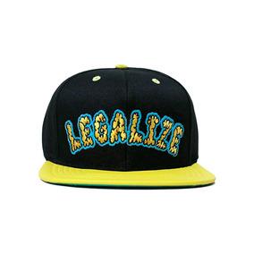 88f20dc63d602 Bone Legalize Erva Snapback Aba Reta Original Skate Bombeta - Bonés ...