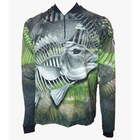 3a49535e4c Camisa De Pesca Carcaça Proteção Uv 50 + Kaa31 Kaapuã