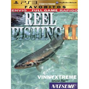 Reel Fishing Pescaria 2 Vara De Pescar Barco Ps3 Carro Luta