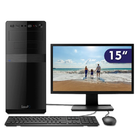 Computador C/ Monitor Led 15.6 Easypc Intel I5 4gb Hd 500gb