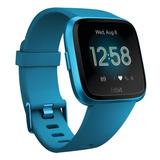 Smartwatch Fitbit Versa Lite Marino Aluminum Azul
