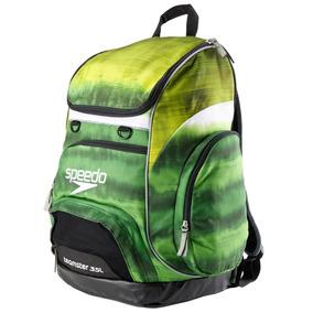 Speedo 35l Mochila Teamster Backpack Natacion 29 Colores