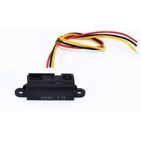 2x Sensores Sharp Gp2y0a21yk0f Infravermelho 10 80cm Arduino