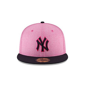 Gorra New Era New York Yankees 100% Poliéster Visera Plana de6eb87172a