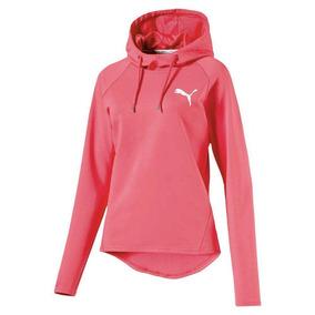 Blusão Feminino Active Ess Hooded Cover Up - Puma - Rosa f544cbbdc26bd
