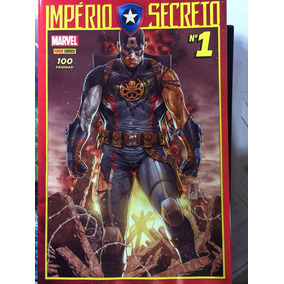 Capitao America E Vingadores Imperio Secreto Saga