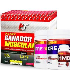 Kit Primetech Ganador Muscular + Suplementos Aumento Eficaz