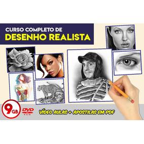 Curso Desenho Realista: Vídeo Aulas+apostilas (frete Grátis)
