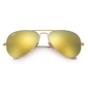 Ray Ban Aviator 58 Dourado Fosco 112 85 De Sol - Óculos no Mercado ... 8a6a928360