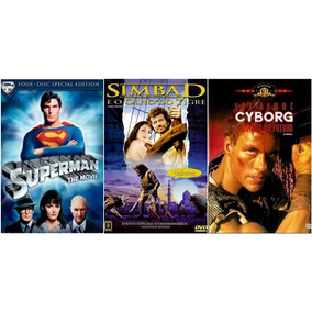 Combo 3 Filmes Superman + Cyborg O Dragão Do Futuro + 1