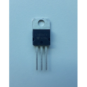 2 X Arduino Regulador De Tensão 7806 Lm7806 6v
