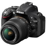 Cámara Nikon D-5200 Profesional Negra Con Accesorios