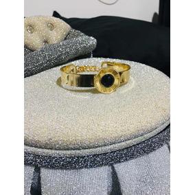 Pulseira Feminina Dourada Bijuteria Delicada