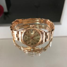 acfdae2280b Rolex Presidente Femcom Diamante - Joias e Relógios no Mercado Livre ...