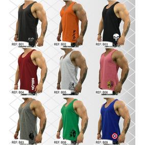 7 Regata Masculina Blusa Camiseta Cavada Musculação Regatas