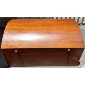 Baú Vintage - Móveis Antigos/ Rústicos - Em Madeira Legítima