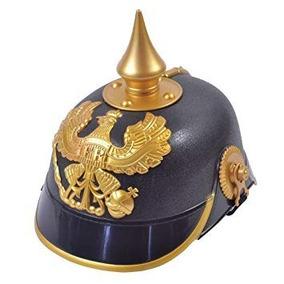 Sombrero Tiroles Aleman Gorro Tela Premium Disfraz Cotillon. 1 vendido -  Capital Federal · Casco Prusiano Aleman Pickelhaube Plástico Duro - Cotillon 27e3e790ac5