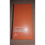 Caixa Samsung Galaxy J 7