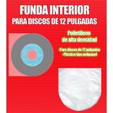 100 Fundas De Plástico Grueso Interiores De Disco Lp
