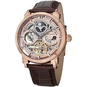 Reloj Hombre 371.03 Extensible Piel Cocodrilo Stuhrling