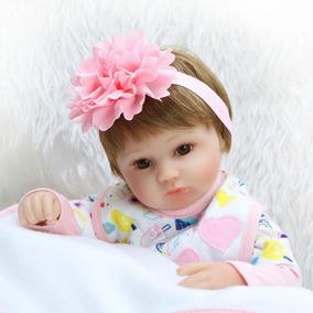 Bebê Reborn Boneca Menina Larinha Pijama Frete Gratis Rb