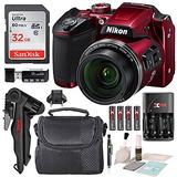 Cámara Nikon Coolpix B500 +tarjeta 32gb+accesorios+kit Clean