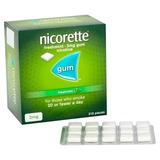 Nicorette Gum 210 Chicle Nicotina 2mg Dejar De Fumar Fresh