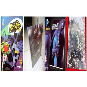 Lote C/ 4 Batman Capa Dura Novos, Noel, Coringa, Batman66,+h
