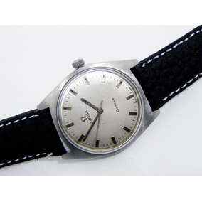 Original Reloj Omega Geneve Cal 601 Cuerda Manual Caja Acero