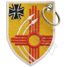 Chaveiro Bordado - Brasão Cruz Ferro Luftwaffe Força Aerea