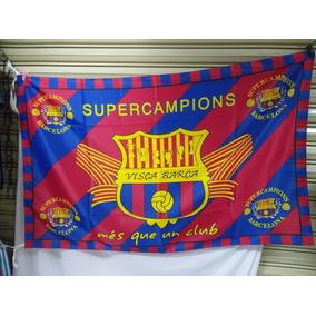 Bandera Fc Barcelona en Mercado Libre México 0ac24dc9395