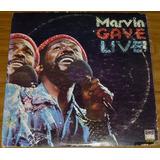 Vinil Como Nuevo De Coleccion Marvin Gaye Live Bs 9500