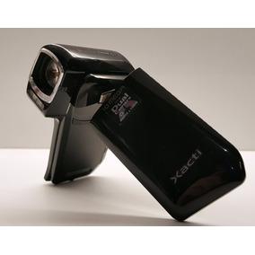 Sanyo Xacti Dual Camera Hd + Acessórios