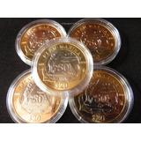 Moneda 20 Pesos Marina Con Capsula 2016 Brillo Natural