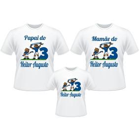 Aniversario Cruzeiro Personalizados - Camisetas e Blusas no Mercado ... 4c565da0f00c1