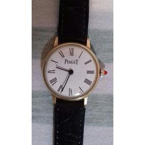 1d42748d18b Relogio Piaget Tank Ouro Branco - Relógios De Pulso no Mercado Livre ...