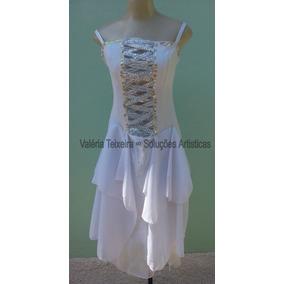 Vestido Branco Lote Com 5 Tamanhos P & M Usados