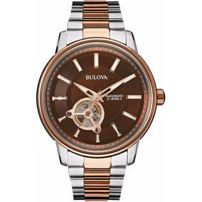 99a72877135 Relógio Bulova Automatic 21 Jewels C977615 - Relógios De Pulso no ...