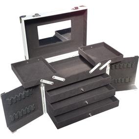Maletin Porta Cosmeticos Maquillaje Aluminio Profesional