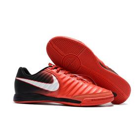 d5bcef6807 Chuteira Futsal Nike Tiempo Ligera 4 Ic Masculina - Chuteiras no ...