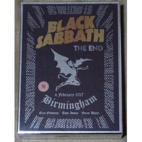 Black Sabbath The End Deluxe Box Blu-ray/cd/dvd +extras